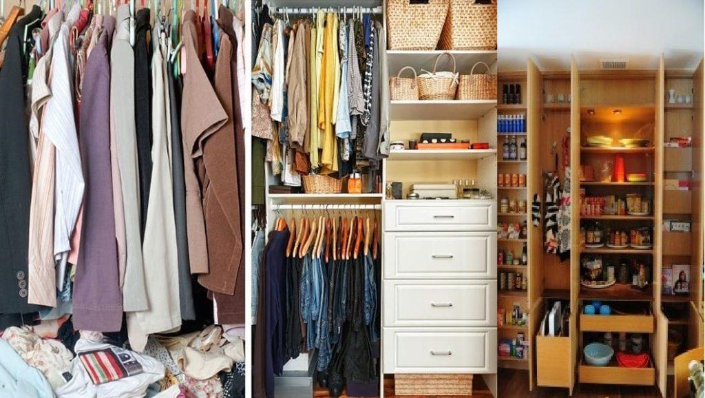 Organizing/de-clutter Home